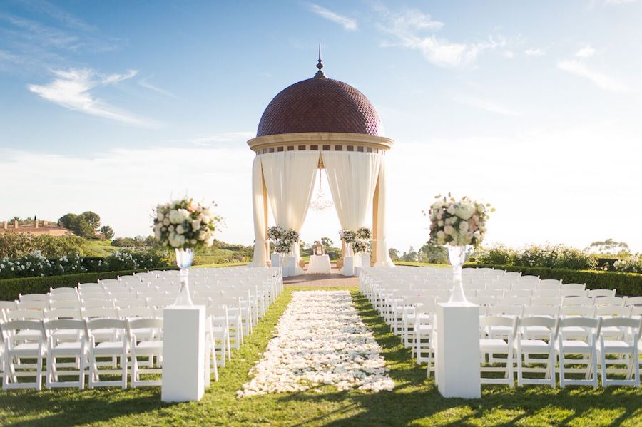 Sparkling Resort At Pelican Hill Wedding