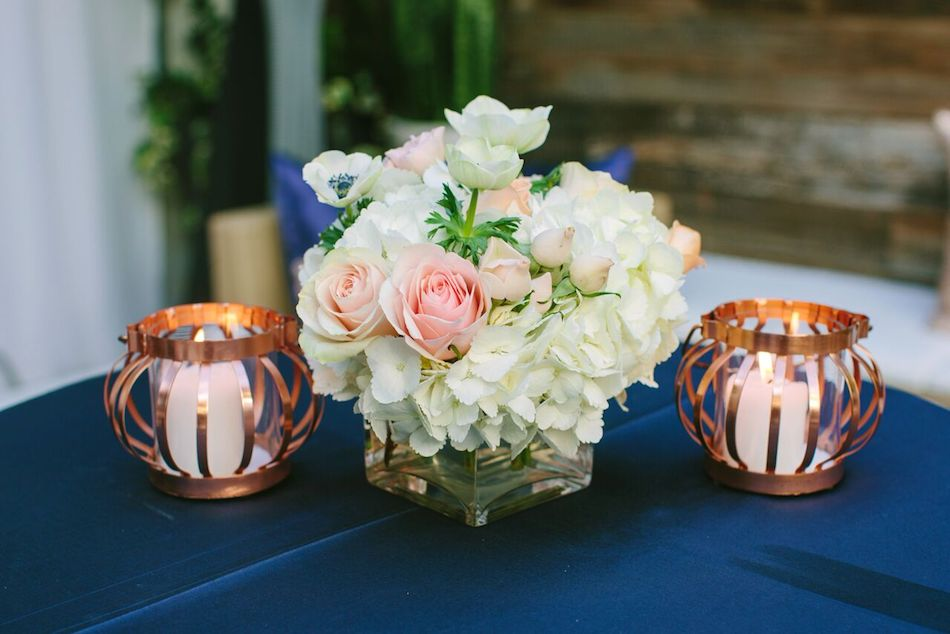 Blush and gold wedding, Priscilla Valentina, Flowers by Cina, Seven4one, Tricia Dahlgren Events