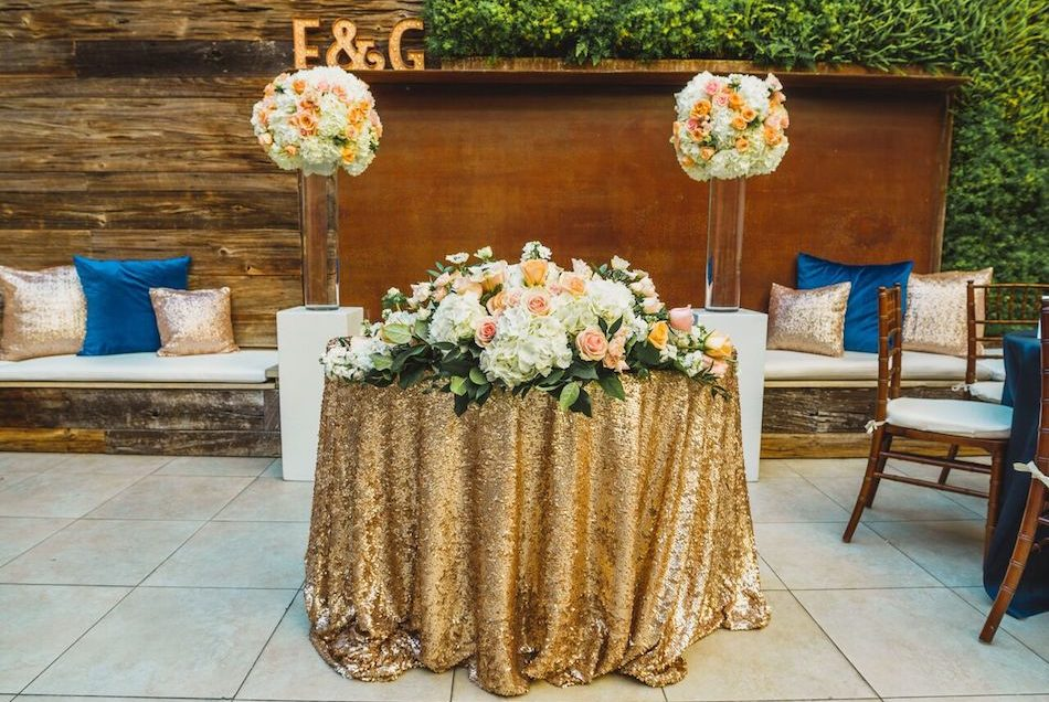 A Blush and Gold Wedding At Seven4one