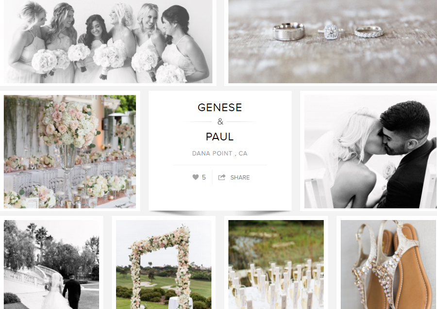 Genese & Paul Featured on Carats & Cake
