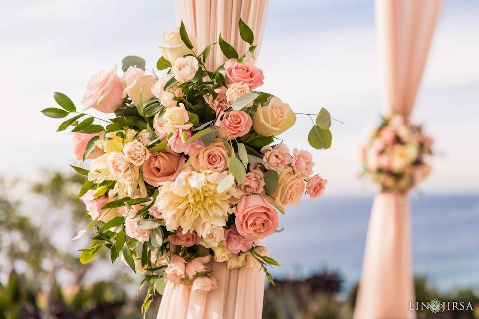 ritz carlton laguna niguel, wedding, blush wedding, blush, wedding flowers, wedding florist, florist, orange county wedding, orange county florist, orange county wedding florist, floral design, flowers by cina,