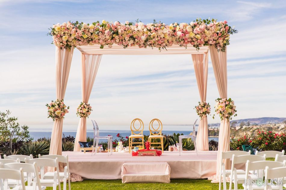 Elegant Blush Wedding at Ritz Carlton Laguna Niguel