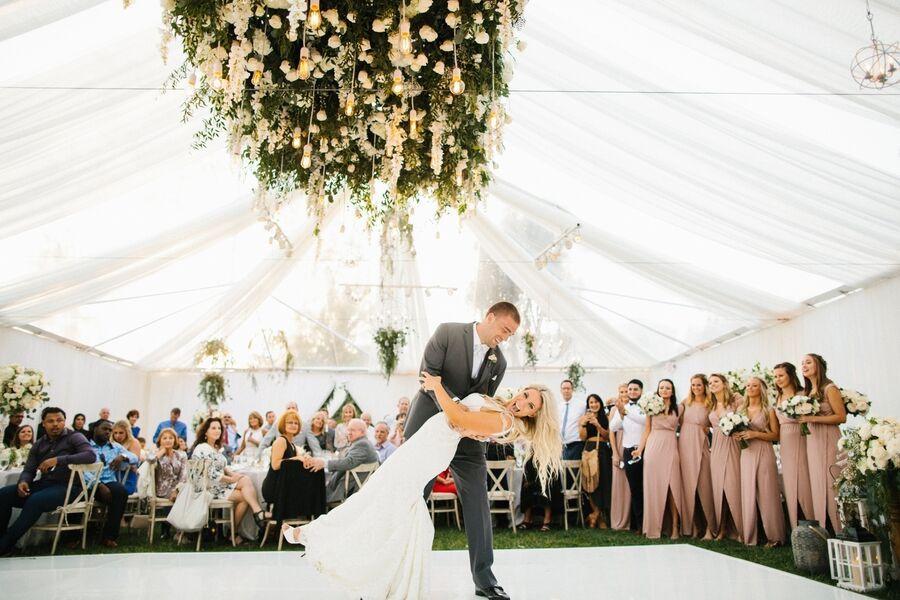 Philadelphia Eagles' Zach Ertz and Julie Johnston's Wedding on Martha Stewart Weddings