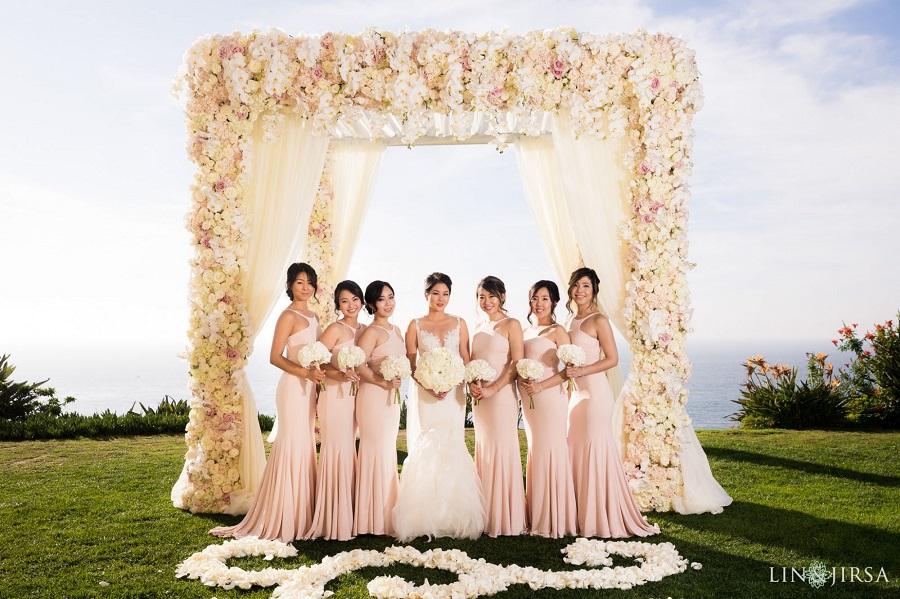 Ritz Carlton Laguna Niguel,, Flowers By Cina, ME Weddings & Events, Blush wedding, Ivory wedding, seaside wedding, Lin and Jirsa