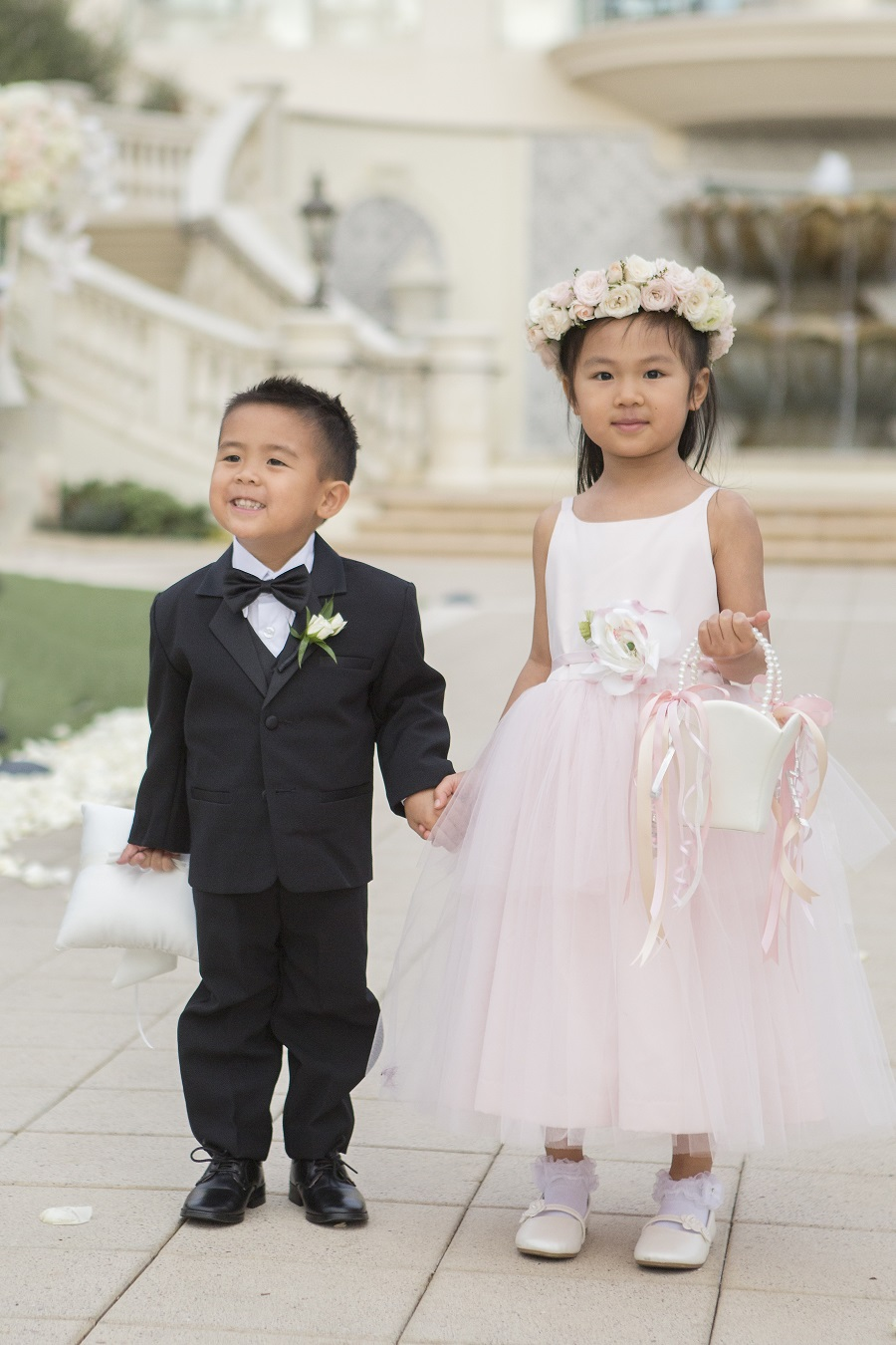 032aee0509 Floral Filled Blush and Ivory Monarch Beach Resort Wedding - Flowers ...