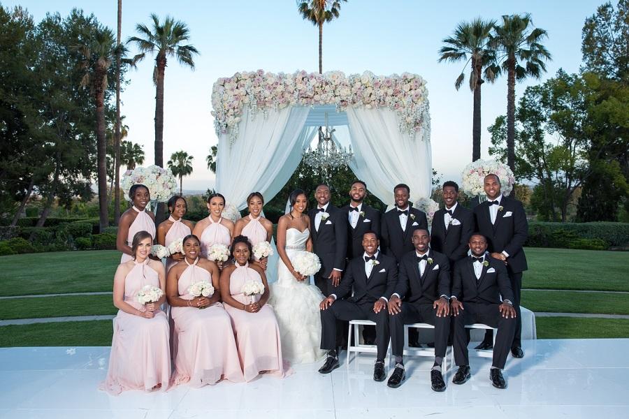 An Elegant Langham Pasadena Wedding
