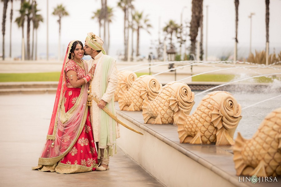 Hyatt Regency Huntington Beach, Agape Planning, Flowers by Cina, Indian Wedding, Lin and Jirsa