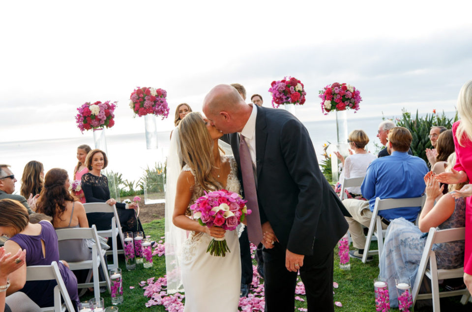 Romantic Pink Ritz Carlton Laguna Niguel Wedding