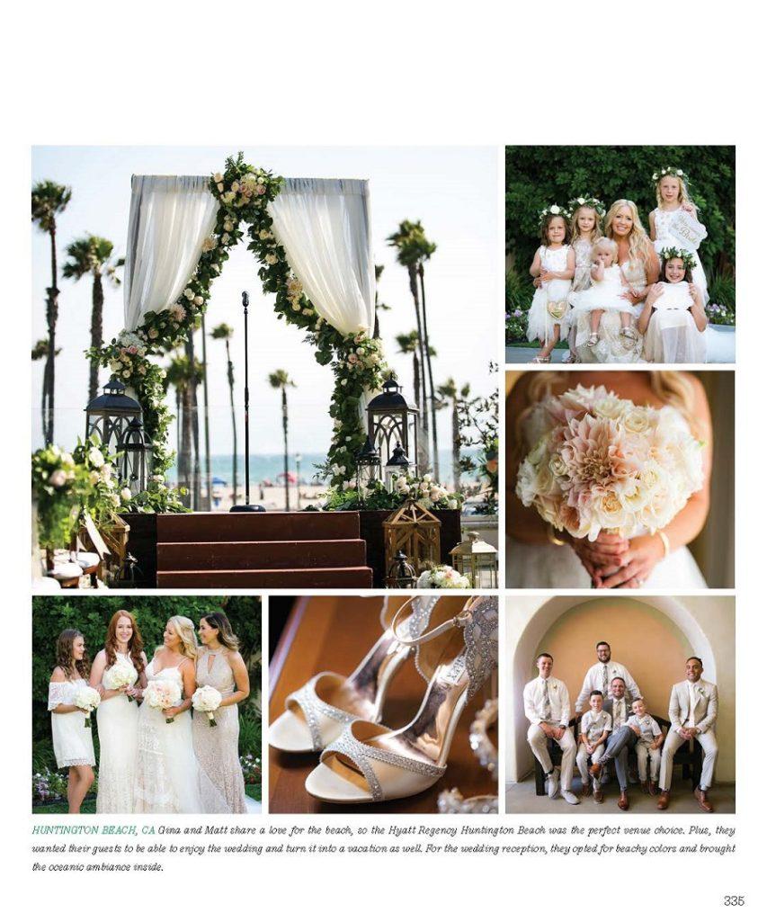 Flowers by Cina, Coastal Chic Wedding, Hyatt Regency wedding, Chic Productions, Ceremony Magazine, ivory wedding, seaside wedding, Christopher Todd Studios