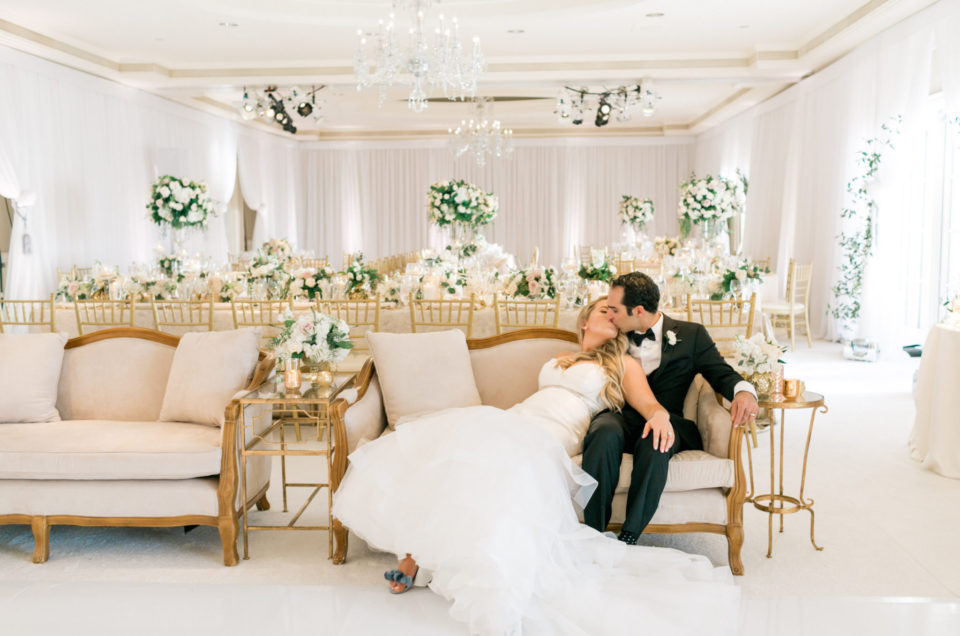 White Wedding at the Ritz Carlton