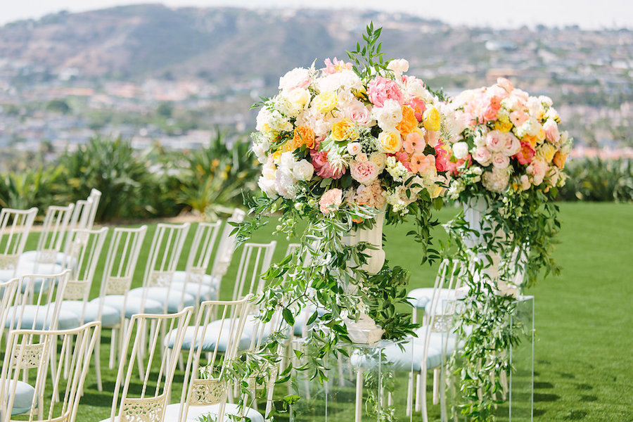 Ritz Carlton Laguna Niguel, Ashley Paige Photo, Hoo Films, Flowers by Cina, Kelsey Events, Chiavari Chair Rental, Chameleon Chair Collection, Bright Event Rentals, La Tavola Linen, Casa de Perrin, Elevated Pulse, Honeycrisp Design Studio, Flawless Faces, Reverend Clint Hufft