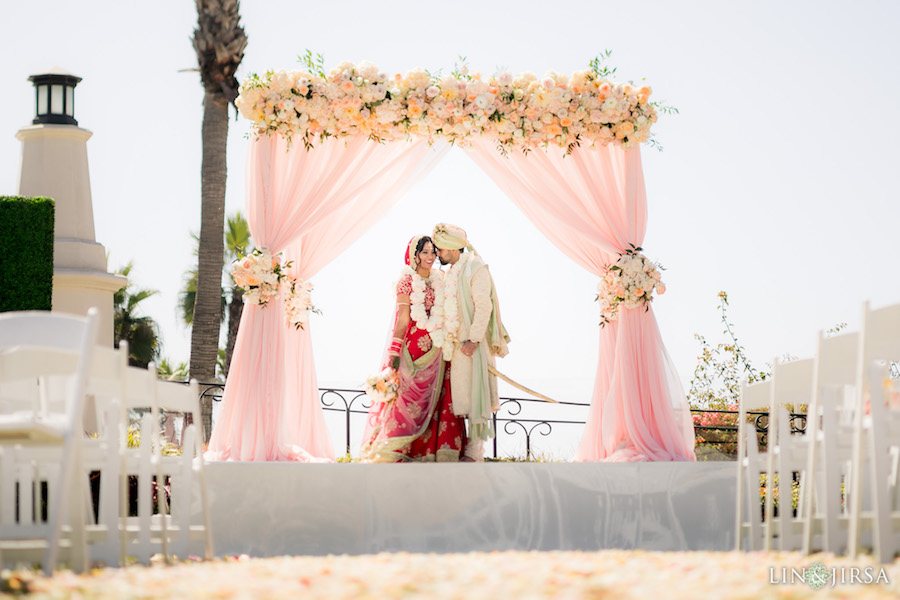 Lin & Jirsa, Hyatt Regency Huntington Beach, Flowers by Cina, Agape Planning, Sweet Salvage Rentals, Design Visage, Impulse Event Lighting, Luxe Linen, Sweet Traders, Cindy Cinderella Carriages, Manohar's Delhi Palace, Ocdamia Strings, Strictly Weddings, Rayce PR & Marketing