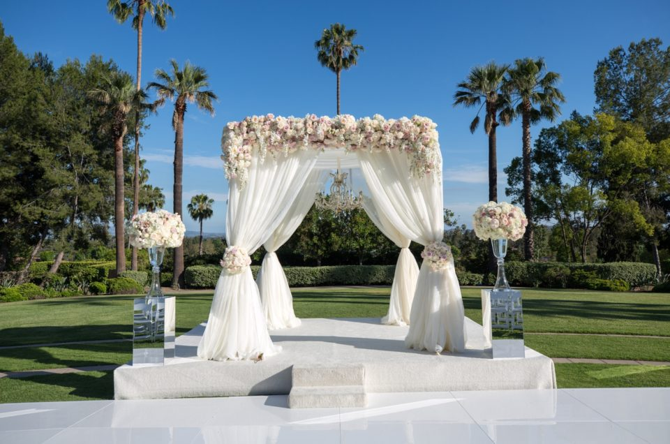 Luxe Los Angeles Wedding on Ceremony Magazine