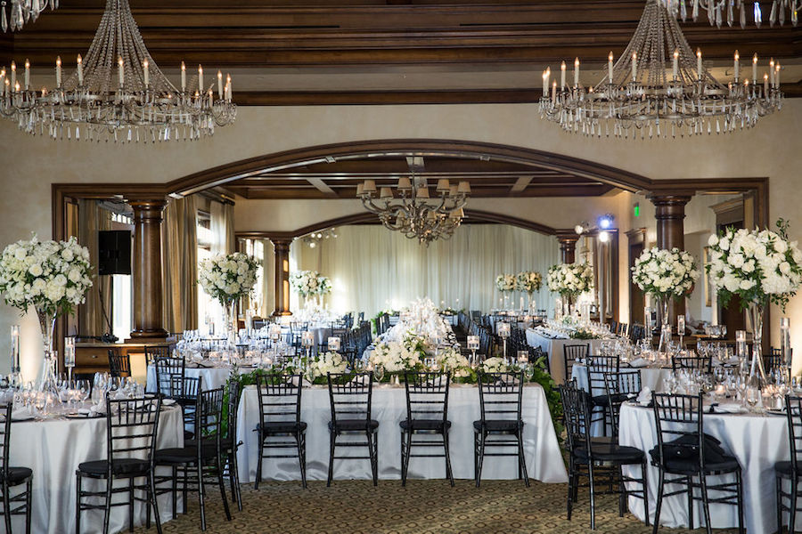 Classic Black and White Wedding at Big Canyon Country Club