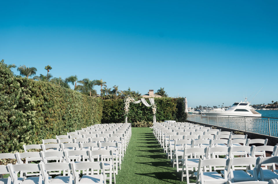 Sunny Wedding at Balboa Bay Resort