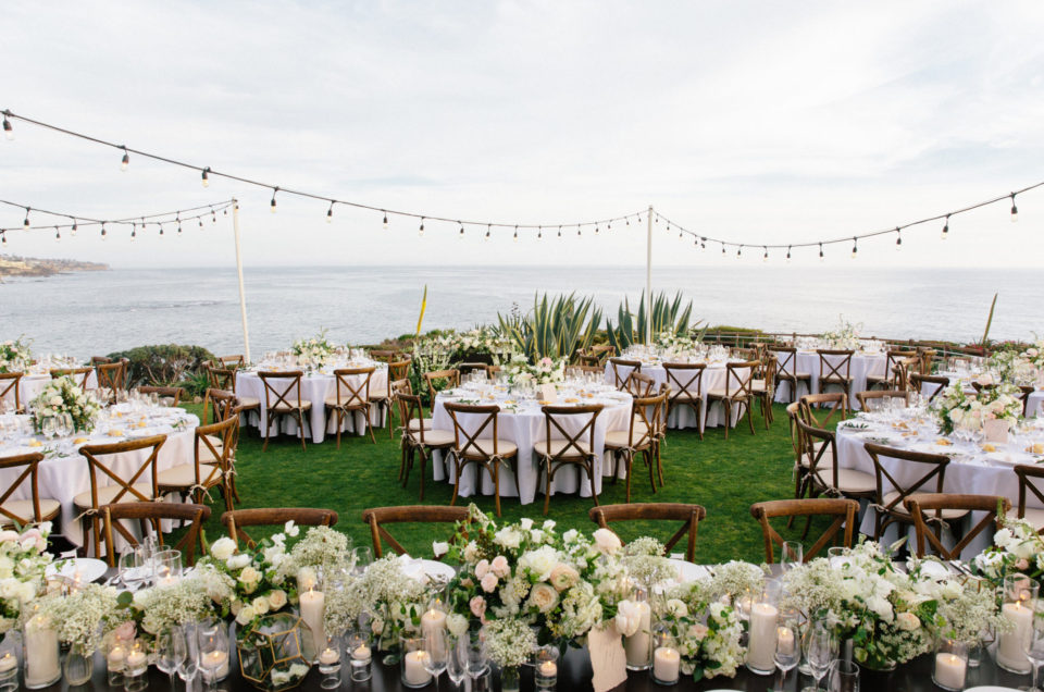 Glistening Laguna Beach Wedding