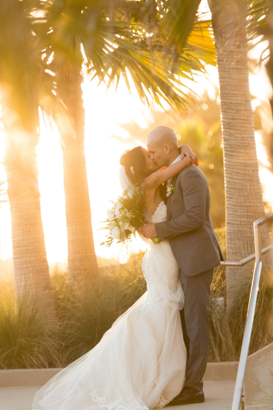 Contemporary Beachy Wedding featured on Belle the Magazine