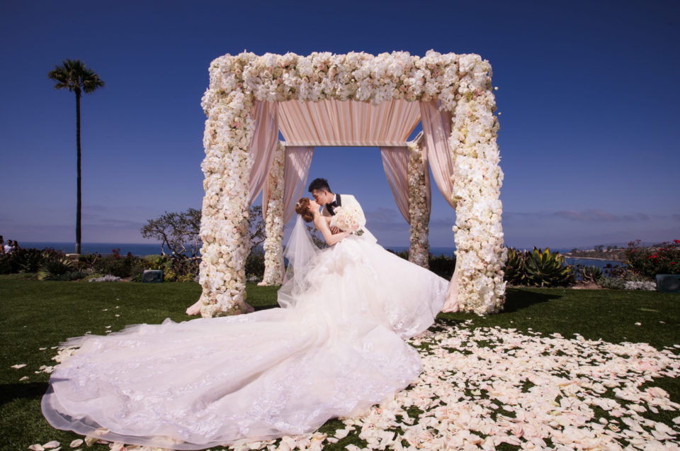 Fairytale-like Oceanside Wedding at The Ritz-Carlton