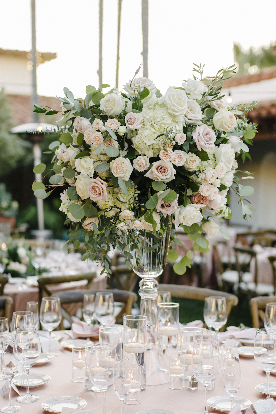 centerpiece, floral centerpiece, pastel centerpiece, traditional pastel wedding, Flowers by Cina, orange county wedding florist, orange county weddings, floral design, orange county floral designer, floral designer