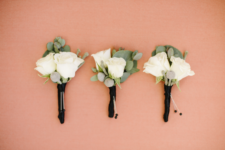 boutonniere, white blooms, floral wedding detail, traditional pastel wedding, Flowers by Cina, orange county wedding florist, orange county weddings, floral design, orange county floral designer, floral designer