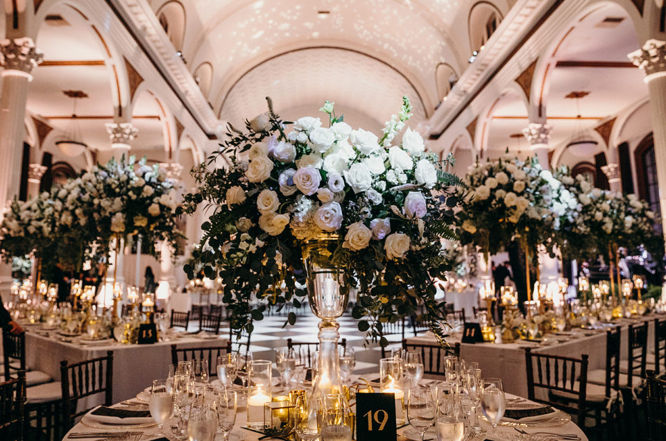 Elegant Art Deco Inspired Wedding Featured in Inside Weddings