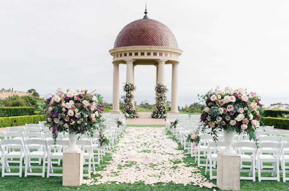 Romantic Wedding in Purple Hues at The Resort at Pelican Hill