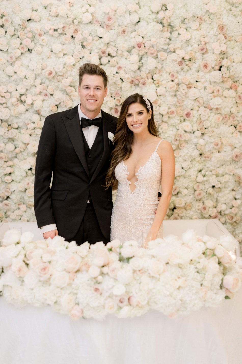 flower wall, floral wall, bride and groom, floral design, florist, wedding florist, wedding flowers, orange county weddings, orange county wedding florist, orange county florist, orange county floral design, flowers by cina