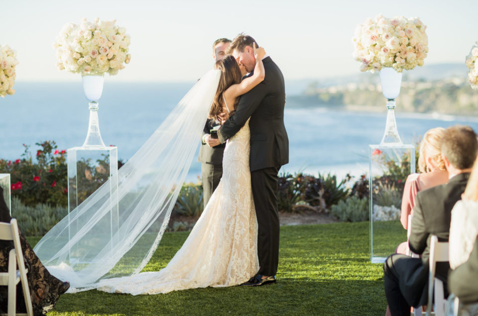Elegant Floral-Filled Wedding at The Ritz-Carlton, Laguna Niguel