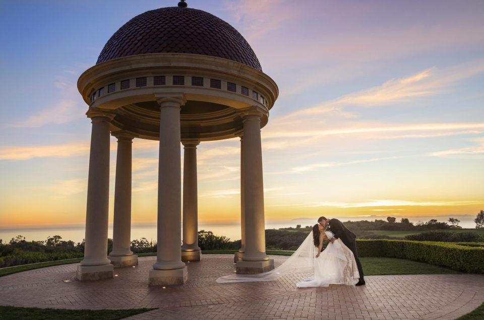 Picture-Perfect Wedding Reception at Pelican Hill Resort