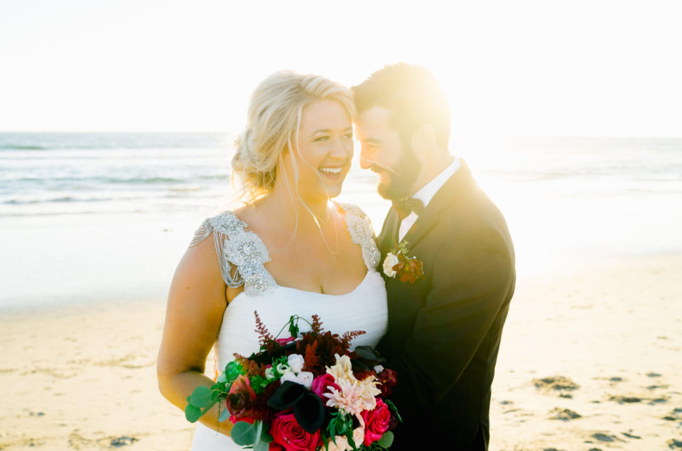 Warm-toned Waterfront Wedding Featured In California Wedding Day Special Edition