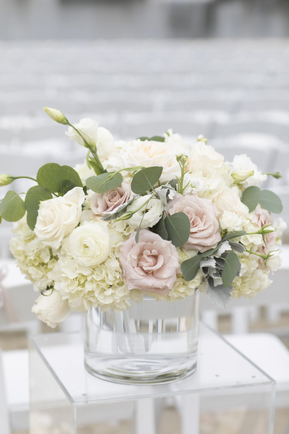 ceremony floral decor, blush floral design, white floral decor, floral design, florist, wedding florist, wedding flowers, orange county weddings, orange county wedding florist, orange county florist, orange county floral design, flowers by cina