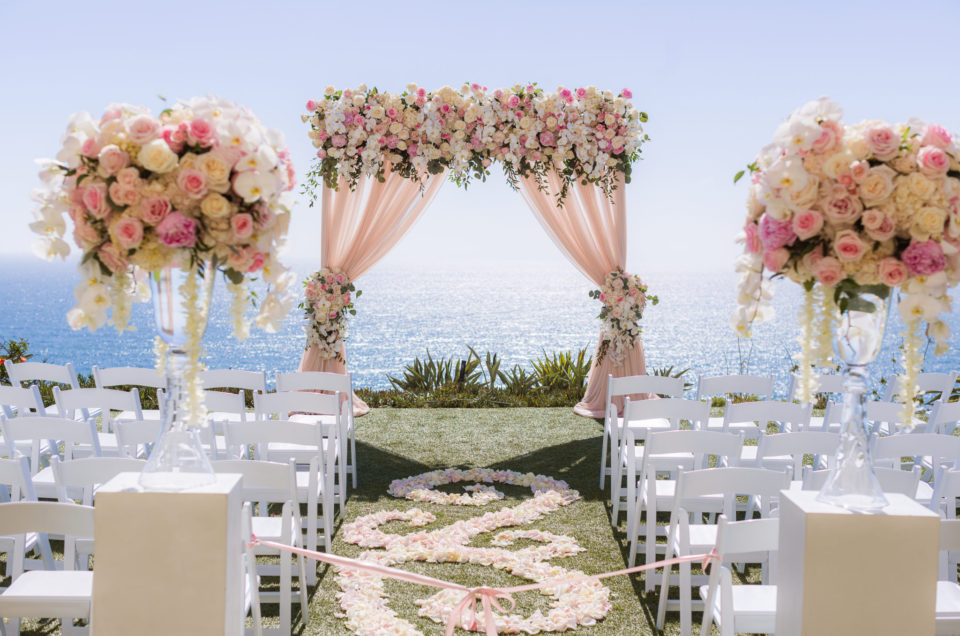 Stunning Wedding Sprinkled with Pink Accents at The Ritz-Carlton