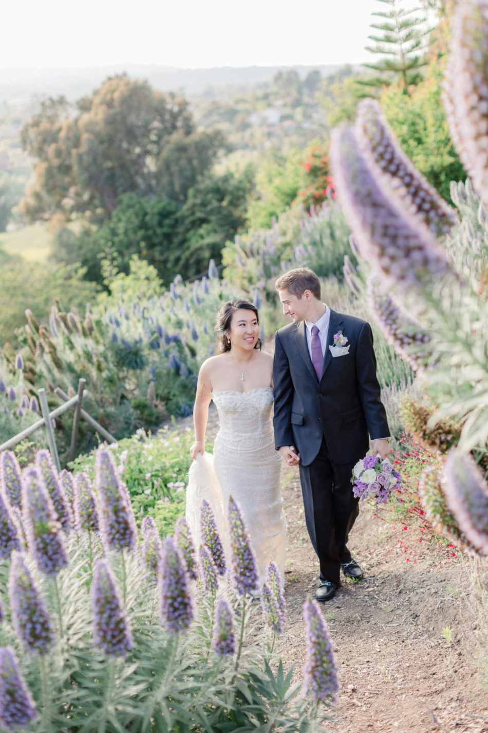 lavender wedding, bride and groom, newlyweds, floral design, florist, wedding florist, wedding flowers, orange county weddings, orange county wedding florist, orange county florist, orange county floral design, flowers by cina
