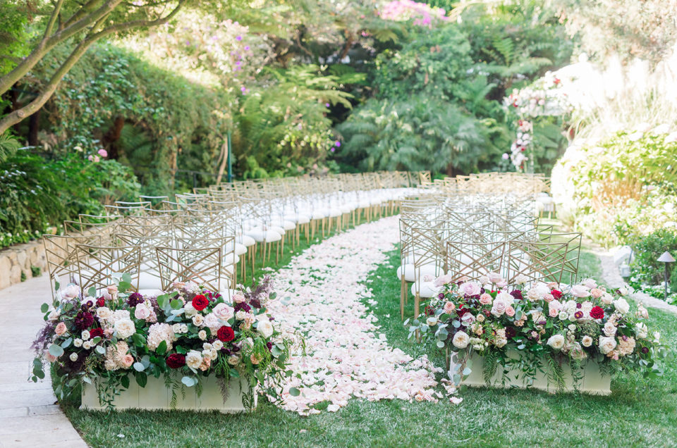 Lavish Floral-filled Wedding at Hotel Bel-Air