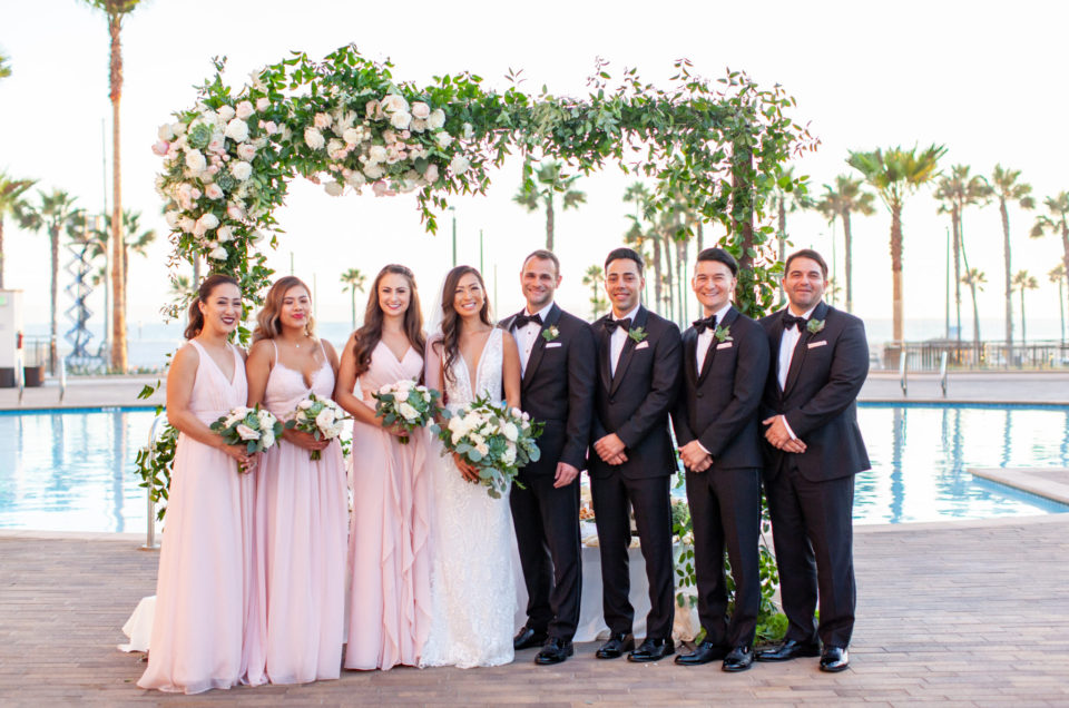 Romantic Waterfront Wedding in Huntington Beach