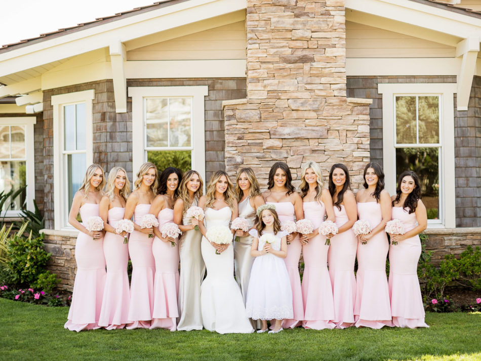 pink bridesmaids dresses, bridesmaids, lavish oceanfront wedding, floral design, florist, wedding florist, event florist, wedding flowers, event flowers, cabo san lucas weddings, cabo san lucas wedding florist, cabo san lucas florist, cabo san lucas floral design, cabo rentals, flowers and events