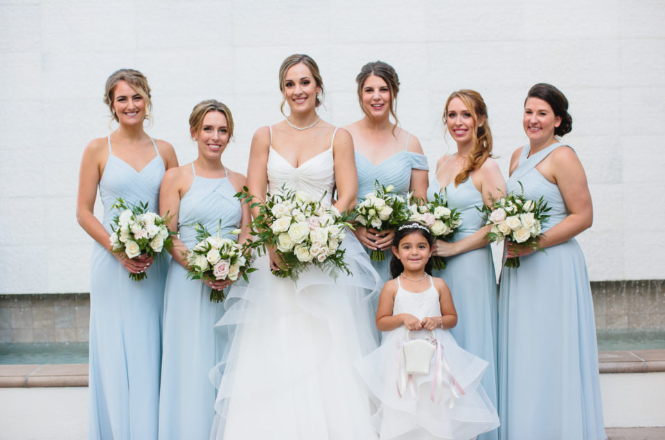 Classic Blue Hued Wedding Featured on Inside Weddings
