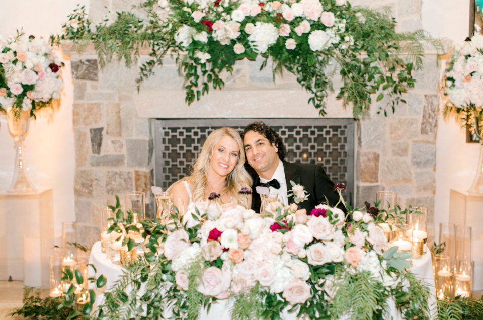 Gorgeous Floral-Filled Wedding at Rolling Hills Country Club