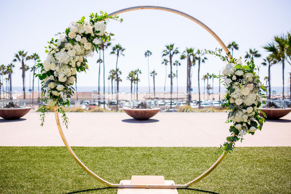 floral arch, white floral arch, ethereal white wedding, florist, wedding florist, wedding flowers, orange county weddings, orange county wedding florist, orange county florist, orange county floral design, flowers by cina