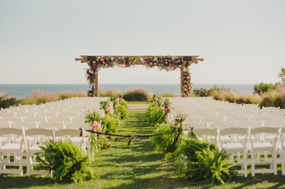 Vibrant Oceanfront Wedding at Terranea Resort