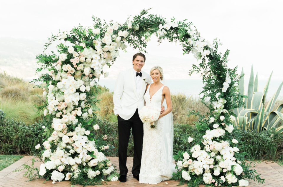 Romantic All-White Wedding Featured on Strictly Weddings