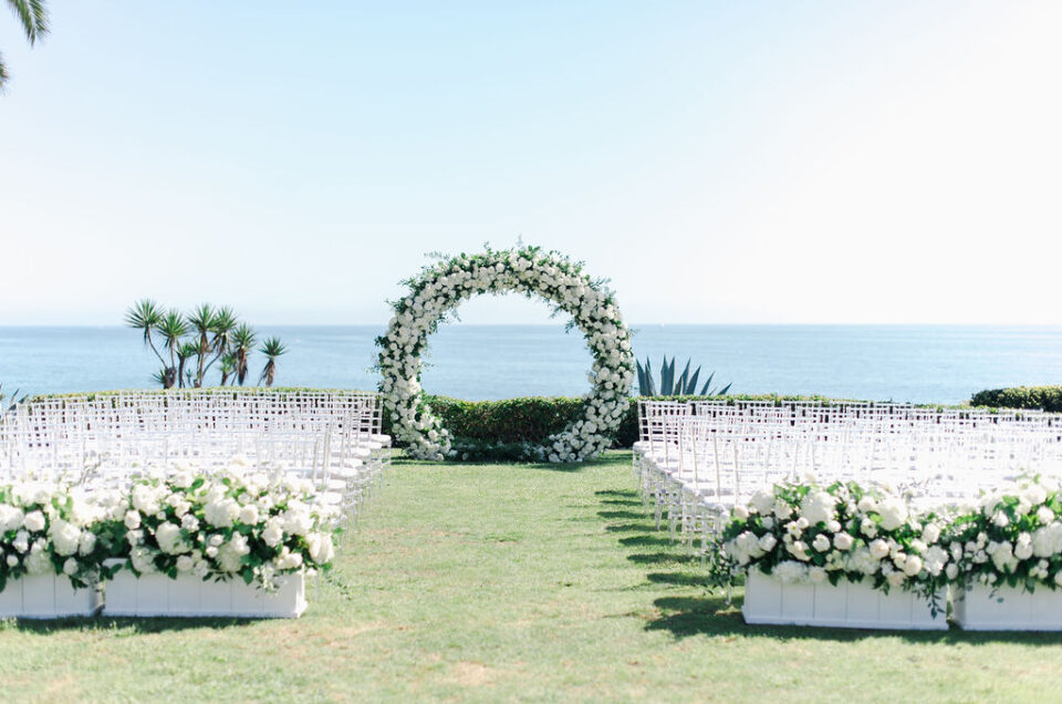 Gorgeous Oceanfront Wedding Featured on Carats and Cake