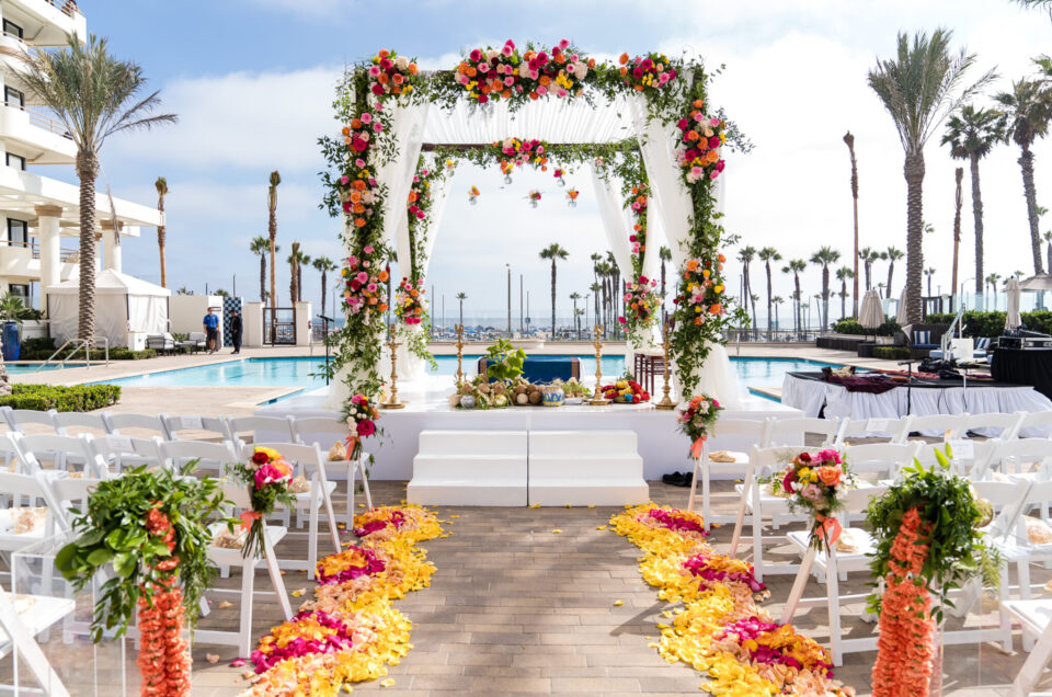 Stunning Vibrant Wedding at Waterfront Beach Resort