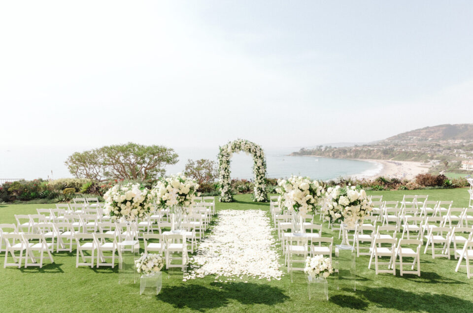 Beautiful Floral-Filled Wedding at The Ritz-Carlton, Laguna Niguel