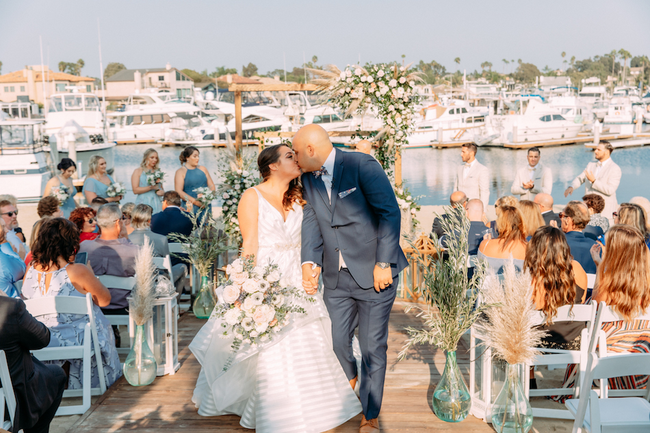Coastal Chic Wedding with a Boho Vibe Featured in California Wedding Day
